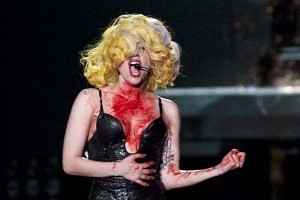 Lady Gaga Performs at Palais Omnisports de Bercy in Paris